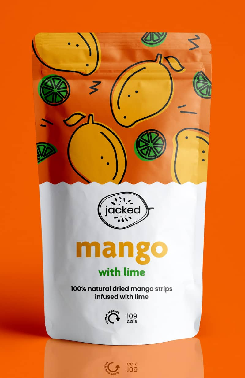 dried mango with lime