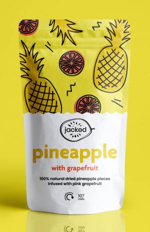 dried pineapple with grapefruit